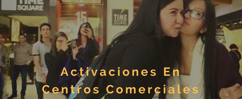 Ejemplos de Activaciones en centros comerciales